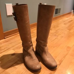 J.Crew Leather Tall Boots